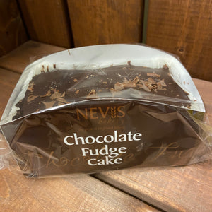 Nevis Bakery - Chocolate Fudge Cake