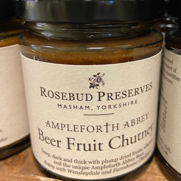 Rosebud Preserves - Ampleforth Abbey Beer Fruit Chutney