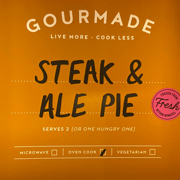 Gourmade - Steak & Ale Pie