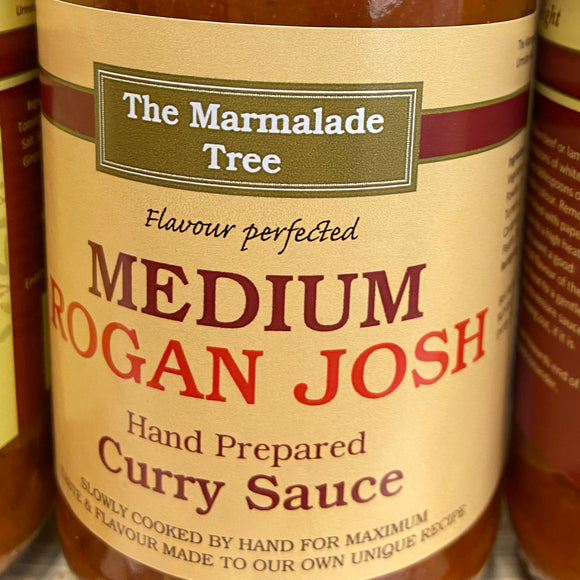 The Marmalade Tree - Medium Rogan Josh Curry Sauce