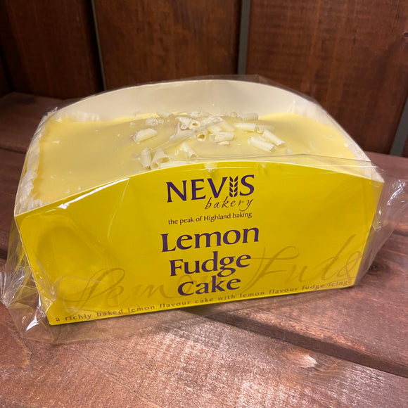 Nevis Bakery - Lemon Fudge Cake