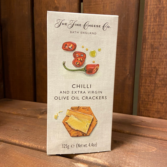 The Fine Cheese Co. - Chilli & Extra Virgin Olive Oil Crackers