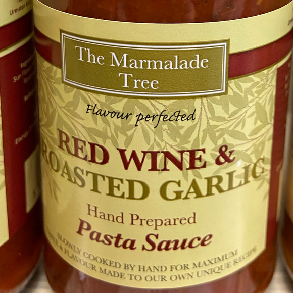 The Marmalade Tree - Red Wine & Roasted Garlic Pasta Sauce