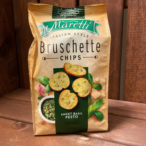 Maretti Bruschette Chips - Sweet Basil Pesto