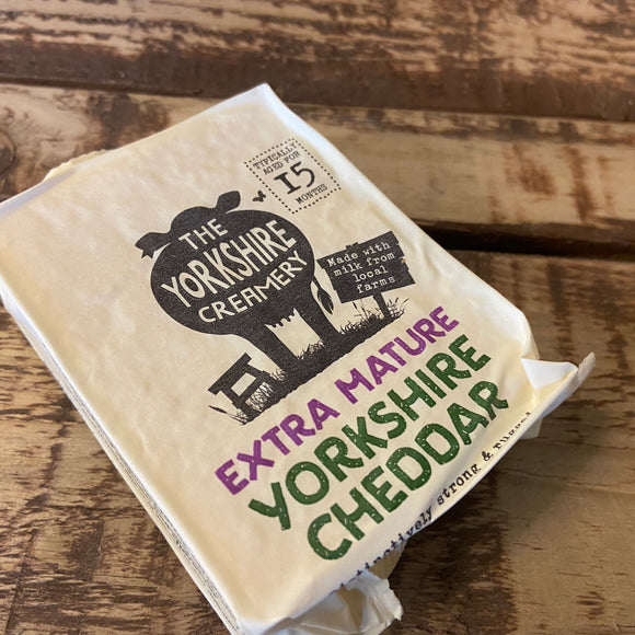 The Yorkshire Creamery -  Extra Mature Yorkshire Cheddar