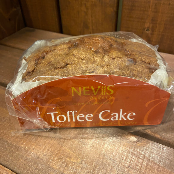 Nevis Bakery - Toffee Cake