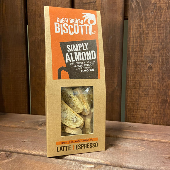 Great British Biscotti - Simply Almond