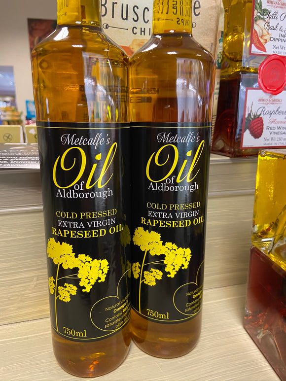 Metcalfe's Oil of Aldborough - Rapeseed Oil