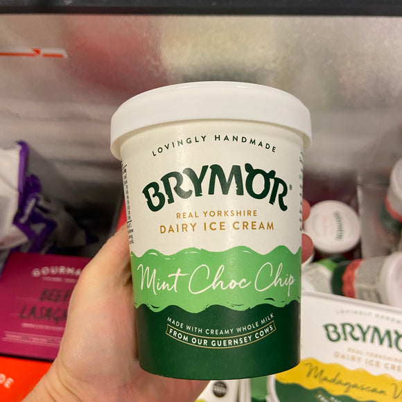 Brymor Ice-cream - Mint Choc Chip Small Tub