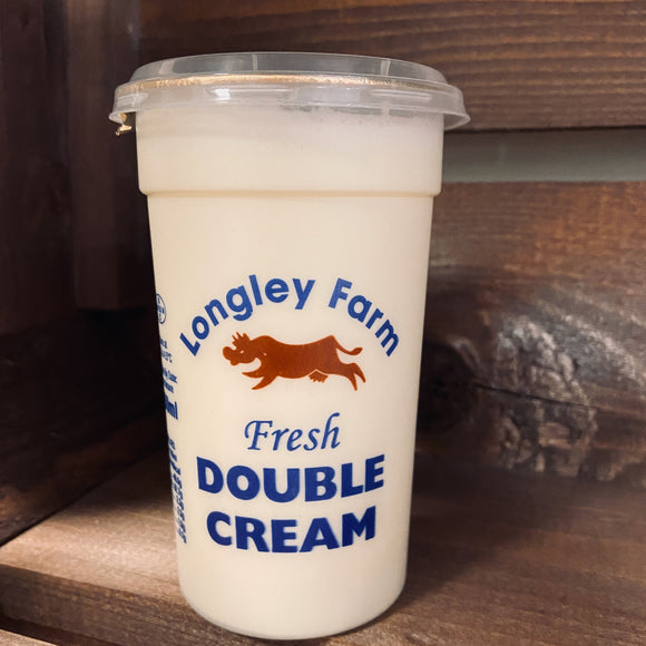 Longley Farm - Fresh Double Cream