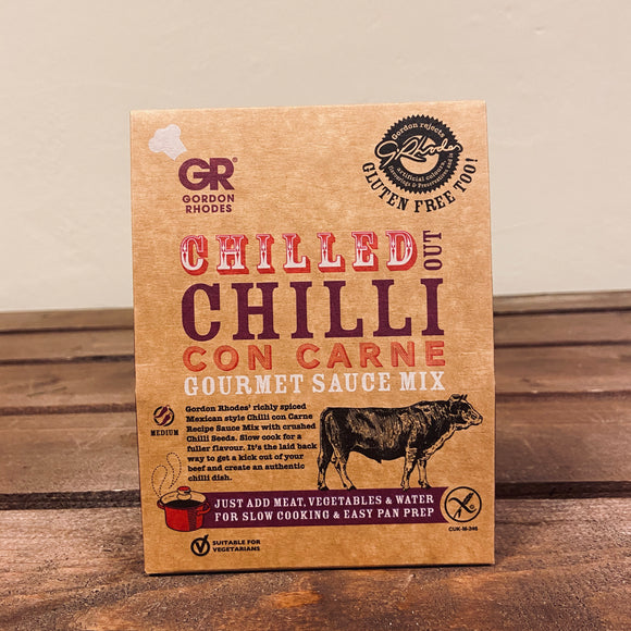 Gordon Rhodes - Chilled Out Chilli Con Carne Gourmet Sauce Mix
