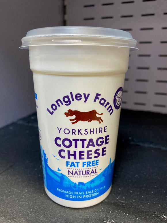 Longley Farm Fat Free Natural Cottage Cheese