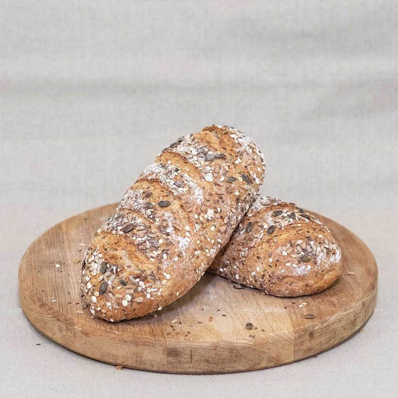 Malted Grain Bloomer (600g free form)