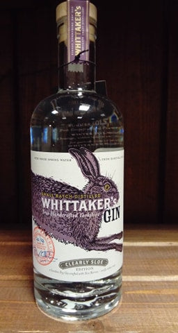 Whittakers Gin - Clearly Sloe Gin