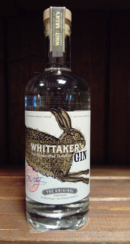 Whittakers Gin - The Original