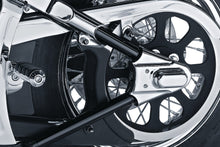 Load image into Gallery viewer, For referenec - Chrome KURYAKYN Rear Phantom Axle Covers - Black - 8202 - SOFTAIL '86-'07
