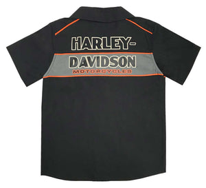 Harley-Davidson® Little Boys Woven Shop Toddler Shirt 2Y/4Y - 1070889