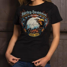 Load image into Gallery viewer, Port City Women's Harley-Davidson Brightness T-Shirt