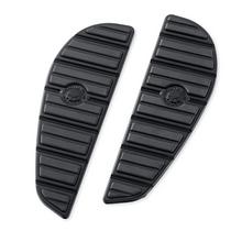 Load image into Gallery viewer, Harley-Davidson® Willie G Skull Rider Footboard Inserts - Black - 50501283.