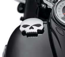 Load image into Gallery viewer, Harley-Davidson® Skull Left Side Fuel Tank Cap - 57300149 - Softail.
