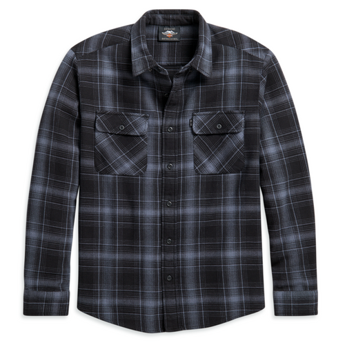 Harley-Davidson® Men's Vintage Plaid Shirt - 96099-21VM