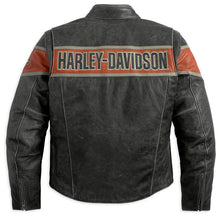 Load image into Gallery viewer, Harley-Davidson® Men's Victory Lane Leather Jacket