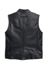 Load image into Gallery viewer, Harley-Davidson® Men's Foster Leather Vest - 98090-15VM.