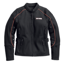 Load image into Gallery viewer, Harley-Davidson® Women's Fennimore Stretch Riding Jacket - 98162-18VW