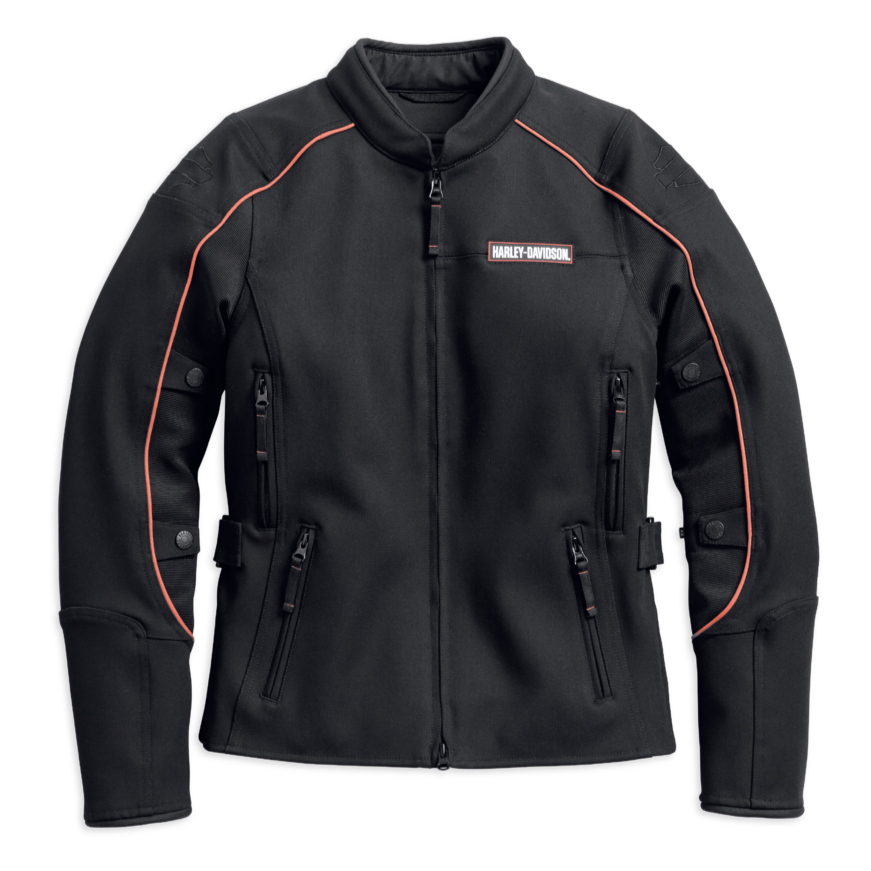 Harley-Davidson® Women's Fennimore Stretch Riding Jacket - 98162-18VW