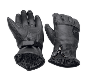 Harley-Davidson® Men's Admiral Under Cuff Gauntlet Gloves