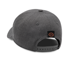 Load image into Gallery viewer, Harley-Davidson® Men's Embroidered Graphic 9FORTY Cap - Heather Grey
