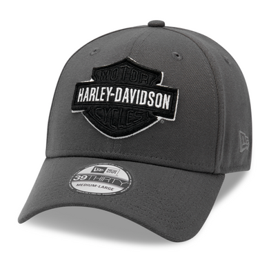 Harley-Davidson® Men's Tonal Logo 39THIRTY Cap - Grey - 99422-20VM