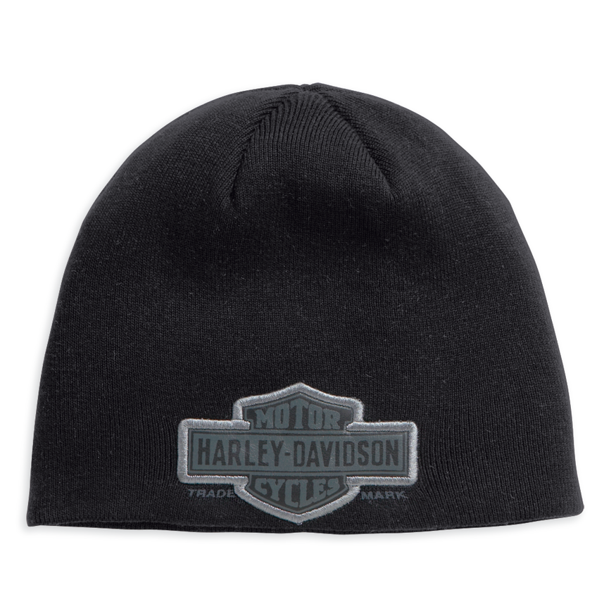 Harley-Davidson® Men's Trademark Bar & Shield Logo Knit Beanie - 99511-11VM