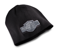 Load image into Gallery viewer, Harley-Davidson® Men's Trademark Bar & Shield Logo Knit Beanie