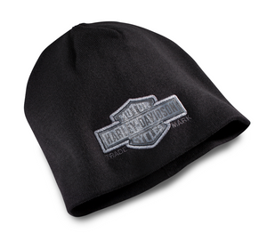 Harley-Davidson® Men's Trademark Bar & Shield Logo Knit Beanie