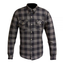 Load image into Gallery viewer, Merlin Axe Zip Up Kevlar® Shirt Jacket - Grey Check
