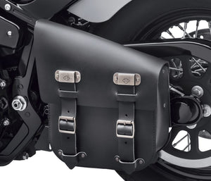 Harley-Davidson® Single-Sided Swingarm Bag- Black - 90201567