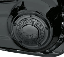 Load image into Gallery viewer, Harley-Davidson® Willie G Skull Derby Cover - Black -  25700976