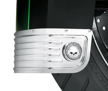 Load image into Gallery viewer, Harley-Davidson® Willie G Skull Fender Skirt Medallions - 14100749