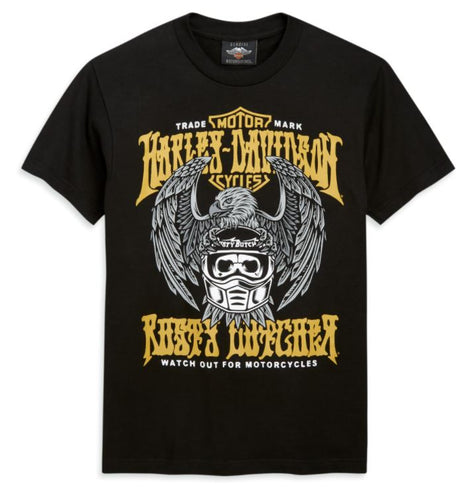Harley-Davidson® Men's HD x Rusty Butcher Eagle Short Sleeve T-Shirt - 96485-20VM