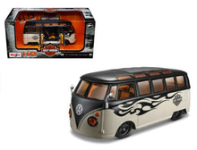 Load image into Gallery viewer, Harley-Davidson® VOLKSWAGEN Van Maisto Diecast 1:25 Scale Comby Model