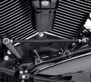 Harley-Davidson® Round Custom Gear Shift Linkage - Gloss Black - 33600259 Kick your custom into gear with this high-quality custom shift linkage.