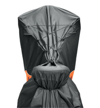 Load image into Gallery viewer, Harley-Davidson® Indoor/Outdoor Motorcycle Cover - MEDIUM (V-ROD/ DYNA / SOFTAIL) - ORANGE / BLACK - 93100022