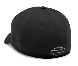 Harley-Davidson® Men's Tonal Logo 39THIRTY Cap - Black