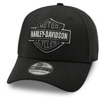Load image into Gallery viewer, Harley-Davidson® Men's Tonal Logo 39THIRTY Cap - Black - 99421-20VM