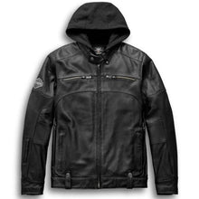 Load image into Gallery viewer, Harley-Davidson® Men's Swingarm 3-in-1 Leather Jacket. 98057-13VM.