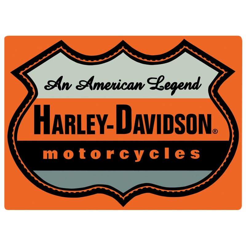Harley-Davidson® American Legend Tin Sign - 2010711.