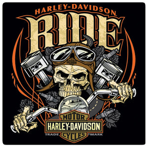 Harley-Davidson® Ride Bone Tin Sign - 2010961