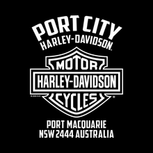 Load image into Gallery viewer, Port City Harley-Davidson® Little Logo Toddler T-Shirt (NEW)