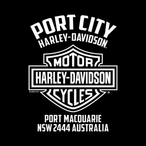 Port City Harley-Davidson® Little Logo Toddler T-Shirt (NEW)
